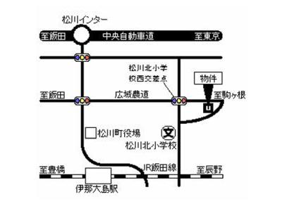 清泉地ハイツ(3DK)案内図イメージ