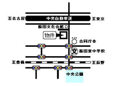 シェトワ鷹羽(B・Cタイプ)案内図イメージ