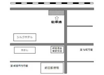 月極駐車場25案内図イメージ