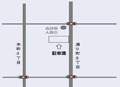 月極駐車場27案内図イメージ