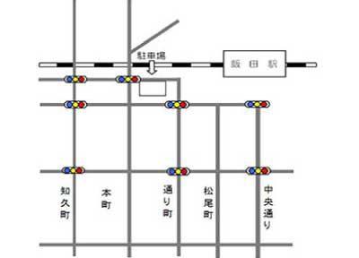 月極駐車場28案内図イメージ
